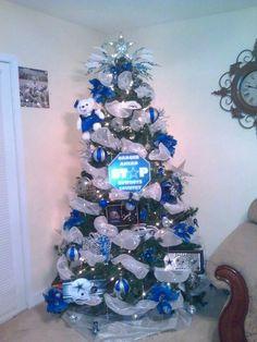 Dallas Cowboys Vintage Burlap 4-Piece Ornament Set