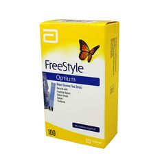 Freestyle Glucose Strips