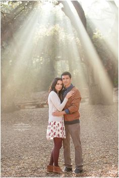 Brittany and Anthony   Oak Canyon Nature Center Engagement Session