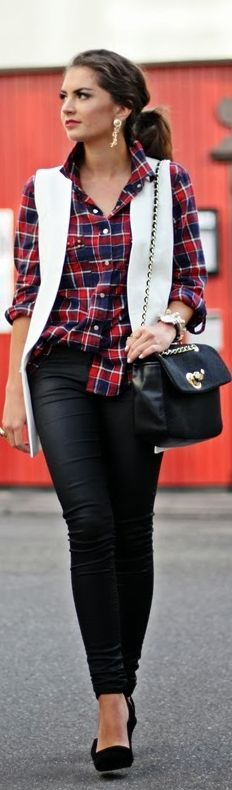 Plaid by Fashion Hippie Loves ♥✤ | KeepSmiling | BeStayBeautiful