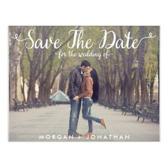 print your own save the date postcards