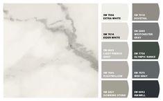 marble color schemes - Google Search Butcher Block Countertops, Quartz Countertops, Kitchen Countertops, Epoxy Countertop, Kitchen Cabinets, Laminate Countertops, Butcher Blocks, White Cabinets, Kitchen Paint