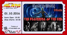 "IRON Maiden Tribute by The Beginning of the end @ БАР-КЛУБ ""ADAMS"" #Tickets: https://www.eticketsmall.com/product_info.php?products_id=671"