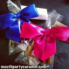 Royal Blue Hot Pink For Favors