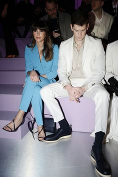 Aitana Ocana and Miguel Bernardeau Photos Photos: BOSS - Front Row - Milan Fashion Week Fall/Winter 2020 - 2021 Divas, Famous Singers, Man Crush, Fashion Show, Milan Fashion, Front Row, Boss, Tv Shows, Fall Winter