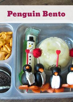 Bento of the Week: Penguin Bento | Pepper Scraps