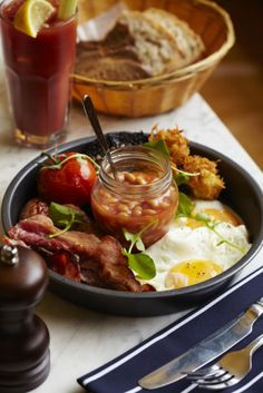 Lauren Mclean....Bacon, beans, and eggs for breakfast.