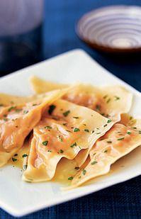 Pumpkin Ravioli and 20 Healthy Pumpkin Recipes - MyNaturalFamily.com #pumpkin #recipes