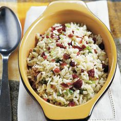 Searching for a gluten-free side-dish this Holiday season?  Our Orange-Cranberry Rice Pilaf is a festive, filling dish that will satisfy every guest.