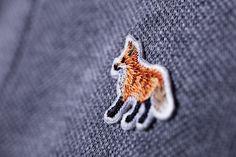 maison kitsune #fox #fashion