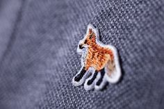 maison kitsune #fox #fashion