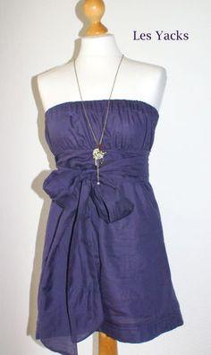 Chez les yacks : tuto robe bustier