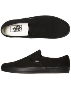 SURFSTITCH - FOOTWEAR - MENS FOOTWEAR - SNEAKERS - VANS MENS LO PRO SLIP ON SHOE - BLACK BLACK