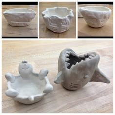Clay Pinch Pots, Ceramic Pinch Pots, Clay Projects For Kids, Kids Clay, Pottery Lessons, Pottery Classes, Pottery Sculpture, Pottery Art, Pottery Clay