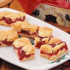Cherry Bars Recipe | Taste of Home Recipes
