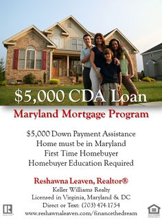 First Time Home Buyer Programs http://reshawnaleaven.com/financethedream