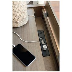 Overwhelming Nightstand With Outlets Idea As Table Lamp With Power Outlet: Perfect Nightstand With Outlets To Complete Sideboard Mid Century Modern Night Stand Hidden Electrical Table Lamps Convenience Outlets For Your Interior Decor Smart Home Design, Modern Interior Design, Van Conversion Interior, Mid Century Sideboard, Modern End Tables, Nightstand, Bedside Tables, Table Lamps, Piano