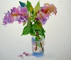 laura's watercolors: now in bloom ...