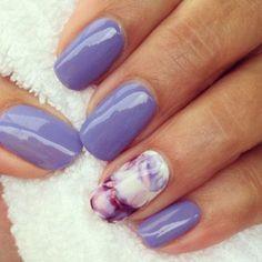 Popular nail art spring time 12