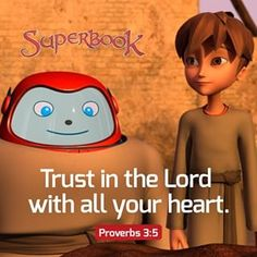 Superbook (@superbook) • Instagram photos and videos Gi Joe, Verses About Trust, Raiden Fighter, Stars On 45, Friend Of God, Kermit The Frog, Proverbs 3, Holy Mary, Coincidences