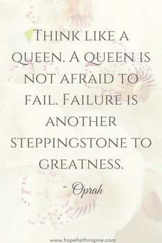 Think like a Queen.