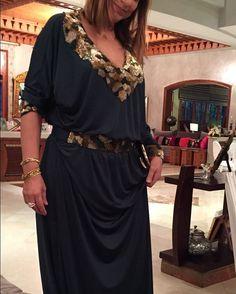 "62 mentions J'aime, 1 commentaires - Myriam Bouafi (@myriambouaficouture) sur Instagram: ""What about my beautiful ambassadrice #gandouras #modernone #green #dress #simplicité #création…"""