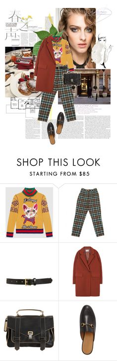 """""""no more of this girl cryin' i'm here, your big man you're mine  is she weird, is she white is she promised to the night and her head has no room"""" by amnaasif ❤ liked on Polyvore featuring Elle, Garance Doré, Gucci, Chanel, Tory Burch and Proenza Schouler"""