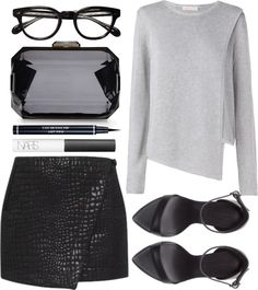 Style - Minimal + Classic: Lissa by aztec-rose featuring a long sleeve sweater