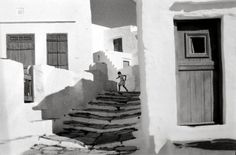 Island of Siphnos, Greece by Henri Cartier-Bresson
