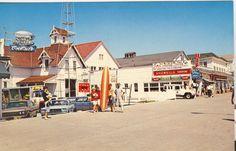 Ocean City Boardwalk at Caroline Street in the 1960's.  #OCBoardwalk #ocmd