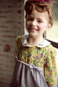 Floral Party collection from Brown as a berry www.brownasaberryshop.com #kids #vintage #brownasaberry