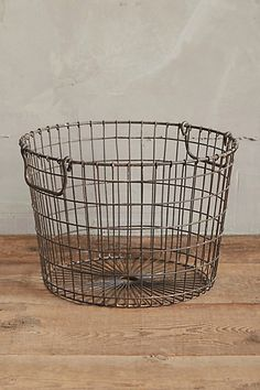 Wire Potato Basket #anthropologie