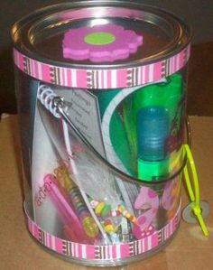 Girls Survival Kits - A great self-esteem building activity for girls. To purchase these kits along with the activity visit urbaneducationservices.com