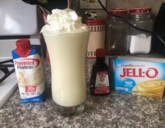 Protein shake recipes 564005553337471200 - My WW friendly shamrock shake! I didn't add food coloring which would have made it green, but what I did is added a premier protein vanilla… Source by Weight Watcher Desserts, Weight Watchers Snacks, Weight Watchers Smoothies, Premier Protein Shakes, Best Protein Shakes, Vanilla Protein Shakes, Protein Shake Recipes, Healthy Shakes, Protein Smoothies