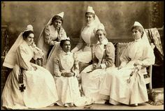 """Patriotic nurses for South Africa"" 1899 by State Library of South Australia, via Flickr"