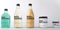 CatherineAdreanistrips down design to itsbasicand created a line of   hygienic products that focuson simplicity and minimalism..