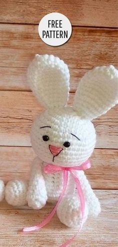 Amigurumi Cute Bunny Free Pattern You are in the right place about crochet toys free patterns Here we offer you the most beautiful pictures about the crochet toys for beginners you are looking for. Easter Crochet, Cute Crochet, Crochet For Kids, Crochet Crafts, Crochet Dolls, Knitting Projects, Crochet Projects, Knitting Patterns, Sewing Projects