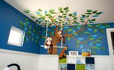 Ideas originales para decorar paredes infantiles - Entre Padres