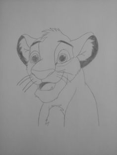 how to draw disney simba step by step book