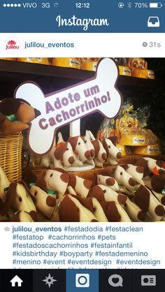 Inspiracao festa Cachorrinho
