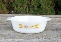 Vintage Anchor Hocking Fire King Wheat Pattern by VintageCDChyld
