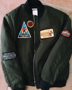 The Bomb: DIY Star Wars Bomber Jacket |the stylish geek