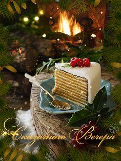 GIF by Mani Ivanov. Christmas Mood, Christmas Pictures, Christmas Treats, Christmas And New Year, Merry Christmas, Xmas, Holiday, Mini Desserts, Good Night Gif