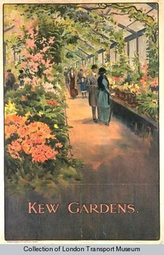 Image Credits: London Transport Museum – Kew Gardens, by Charles Sharland, 1910