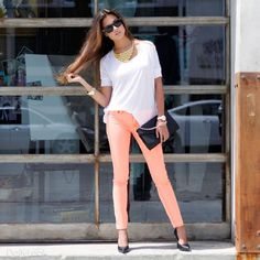 I want some colored pants for summer