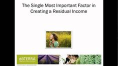 Business Training 1: Making Money with doTERRA