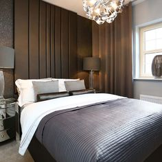 On the first floor there is a good-sized master bedroom with luxury @villeroyandboch ensuite. #Strata
