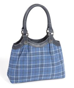 Take a look at this Quintessential: Blue Braemar Shoulder Bag by Quintessential on #zulily today!