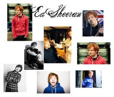 """Ed Sheeran"" by girl-crazy-284 ❤ liked on Polyvore featuring art"