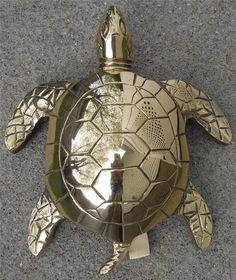 Large Solid Brass Sea Turtle Doorknocker * For more information, visit image link. (This is an affiliate link)